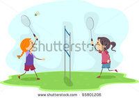 Stock-vector-illustration-of-girls-playing-badminton-95801206